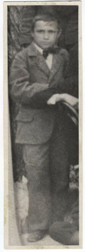 Antun Gustav Matoš kao đak pučke škole