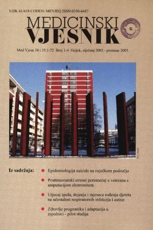 34 i 35, br. 1-4(2002-2003) : Medicinski vjesnik