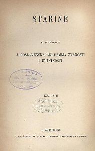 Knj. 2(1870) : Starine