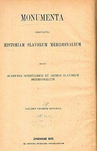 Knj. 8 : Od godine 1420 do 1424 : Monumenta spectantia historiam Slavorum meridionalium