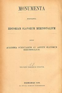 Tomus 4 : A. 1364 - 1396 : Monumenta spectantia historiam Slavorum meridionalium