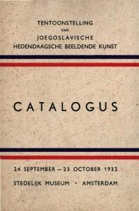 Tenntoonstelling van Joegoslavische hedendaagsche beeldende kunst Catalogus