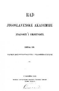 Knj. 84(1913) : RAD