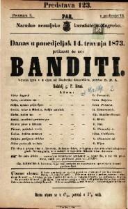 Banditi Vesela igra u 4 čina / od Roderika Benediksa