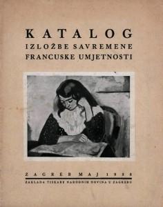 Katalog izložbe savremene francuske umjetnosti
