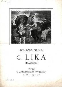 Izložba slika G. Lika (Haueise)