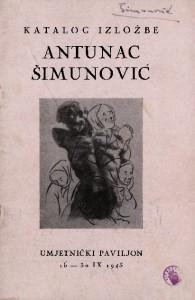 Katalog izložbe Antunac Šimunović