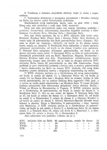 Geografsko istraživanje otoka Šolte / I. Rubić