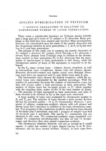 Species-hibridizacija roda Triticum