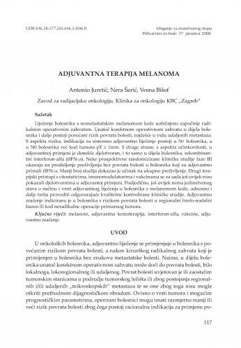 Adjuvantna terapija melanoma