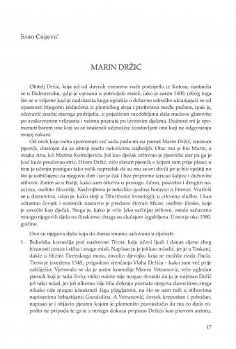 Marin Držić
