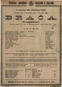 Braća glazbena gluma u tri čina / od Wilhelma Kienzla