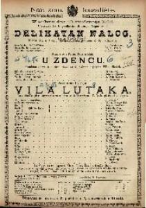Delikatan nalog Vesela igra u 1 / napisao Eugène Adenis
