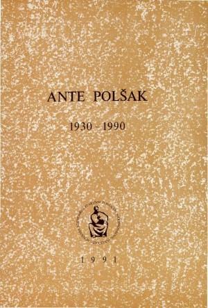 Ante Polšak : 1930-1990 : Spomenica preminulim akademicima