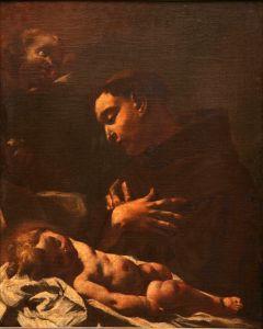 Sveti Antun Padovanski s Isusom