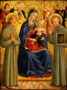 Bogorodica s Djetetom i svetima Franjom i Bernardinom