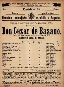 Don Cezar de Basano drama u 5 činah / francezki napisao Dumanoir