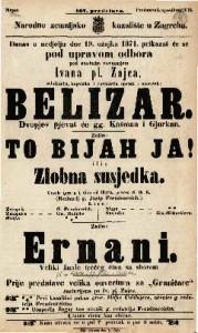 Belizar Dvopjev pjevat će gg. Kašman i Gjurkan