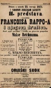 11. predstava Françoisa Rappo-a