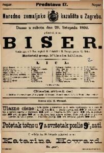 Biser Vesela igra u 3 čina / napisali H. Crisafulli i H. Bocage