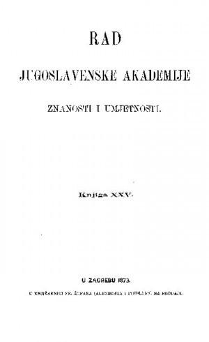Knj. 25(1873) : RAD