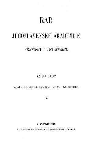 Knj. 10(1885) : RAD