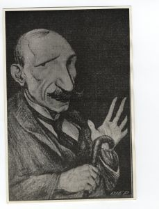 Karikatura A. G. Matoša