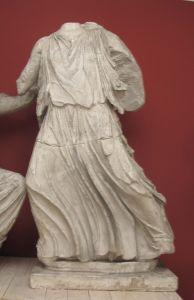 Irida (ili: Hera; ili: Nika), detalj zabata Partenona Fidijina škola