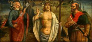 Krist sa svetima Petrom i Pavlom