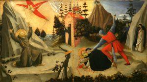 Stigmatizacija svetoga Franje Asiškoga i smrt svetoga Petra Mučenika