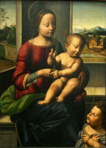Bogorodica s Djetetom i svetim Ivanom