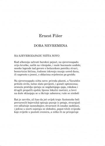 Doba nevremena : Forum : mjesečnik Razreda za književnost Hrvatske akademije znanosti i umjetnosti.