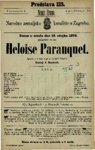 Heloise Paranquet igrokaz u 4 čina / napisao Armand Durantin