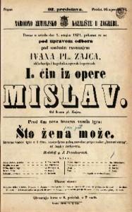 Mislav I. čin iz opere
