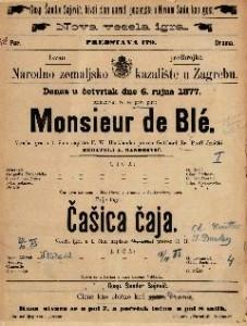 Monsieur de BlÉ vesela igra u 1. činu