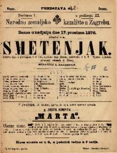 Smetenjak šaljiva igra s pjevanjem u 3 čina / napisao Julij Rosen