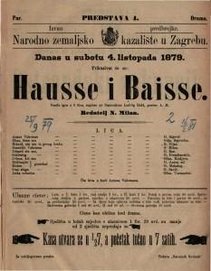 Hausse i Baisse vesela igra u 3 čina / napisao po francezkom Ludvig Held
