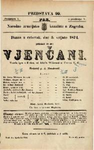 Vjenčani Vesela igra u 3 čina / od Adolfa Wilbrandt-a