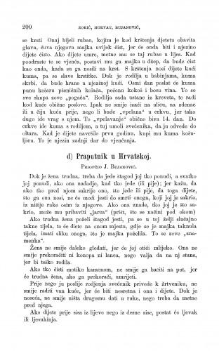 Praputnik u Hrvatskoj : trudne žene i porod : Zbornik za narodni život i običaje