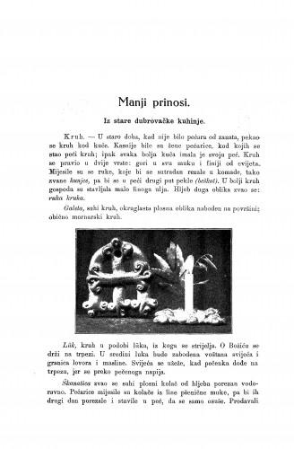 Iz stare dubrovačke kuhinje / P. Bogdan-Bijelić