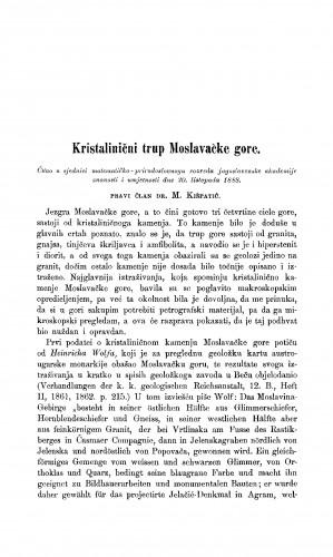 Kristalinični trup Moslavačke gore