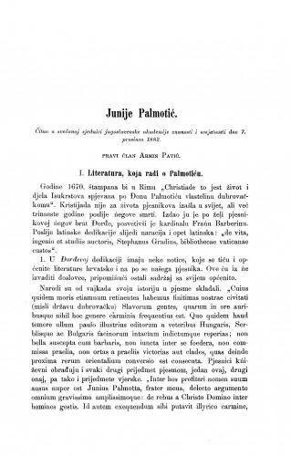Junije Palmotić