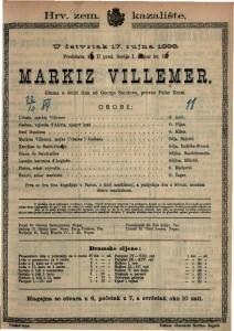 Markiz Villemer : Gluma u četiri čina / od George Sandove