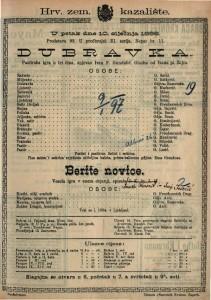 Dubravka Pastirska igra u tri čina / spjevao Ivan F. Gundulić