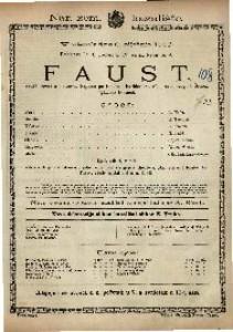 Faust Velika opera u 5 činova / Uglazbio Gounod