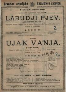 Ujak Vanja drama u četiri čina / od Antuna Čehova