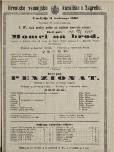 Penzionat opereta u dva čina / od Franje Suppea