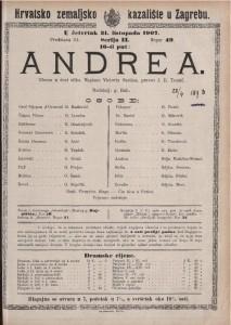 Andrea gluma u šest slika