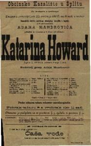 Katarina Howard : Drama u 5 čina (8 slika) / od A. Dumasa
