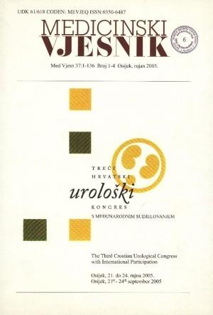 37, br. 1-4(2005) : Medicinski vjesnik